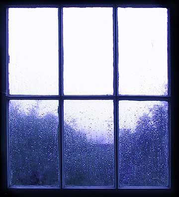 پنجره بارانی